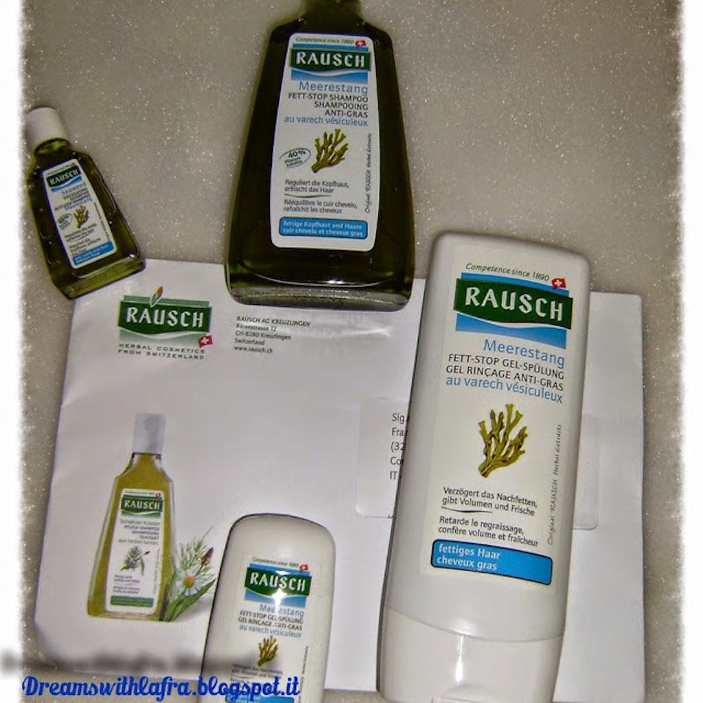Raush Herbal: prodotti naturali per capelli grassi