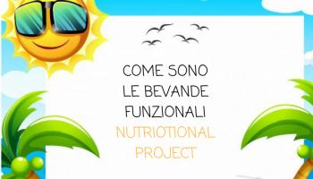 Come sono le bevande funzionali Nutrional Project