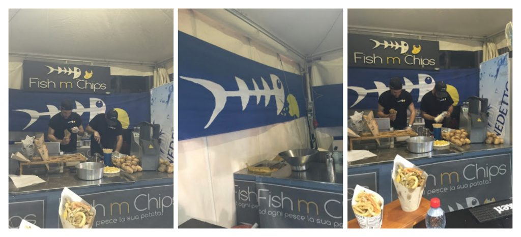 FISH m CHIPS