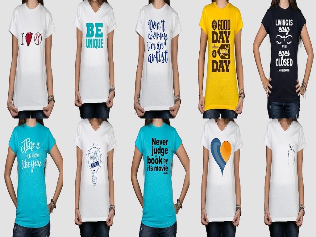 dezuu t-shirt personalizzate femminili