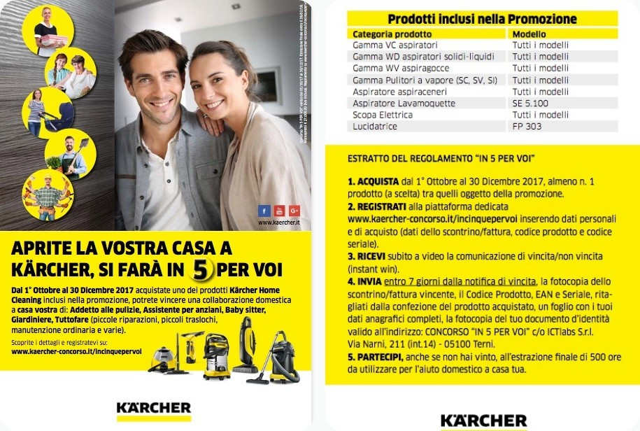 concorso Kärcher