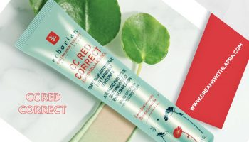 CC Red Correct Erborian: la novità che elimina i rossori della pelle
